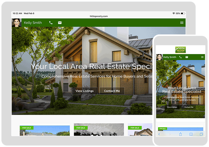 Real Estate Agent Websites by Top Producer